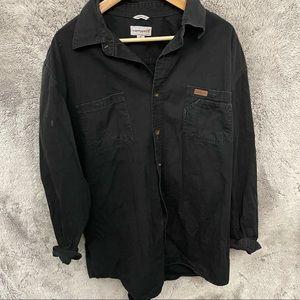 Carhartt Long Sleeve Button Up Top- Tall